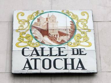 Madrid Street Plaques