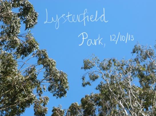 Lysterfield Park