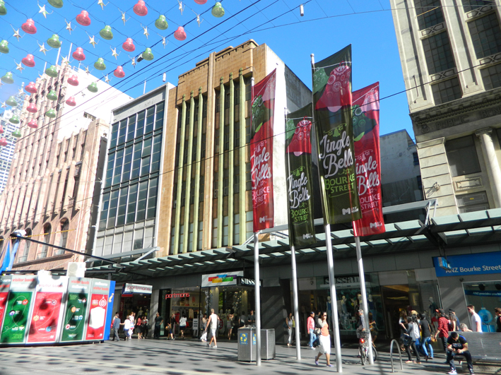 Bourke St. Mall