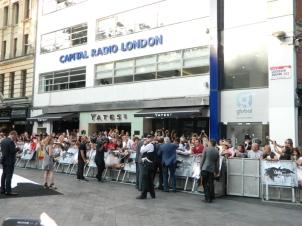 Johnny Depp in London