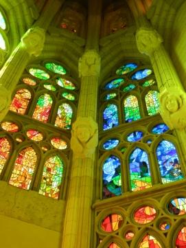 Inside Sagrada Familia, Barcelona
