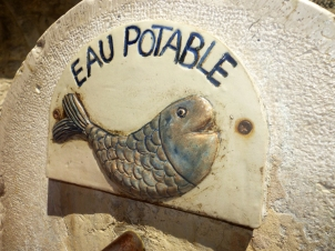 St Paul de Vence Water