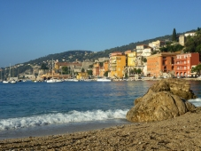 Villefranche town view