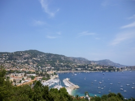 French Riviera views