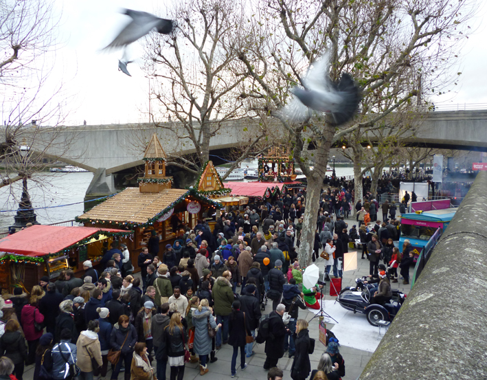 Southbank Pigeons