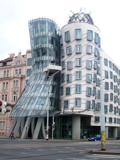 """Frank Gehry's """"Fred and Ginger"""""""