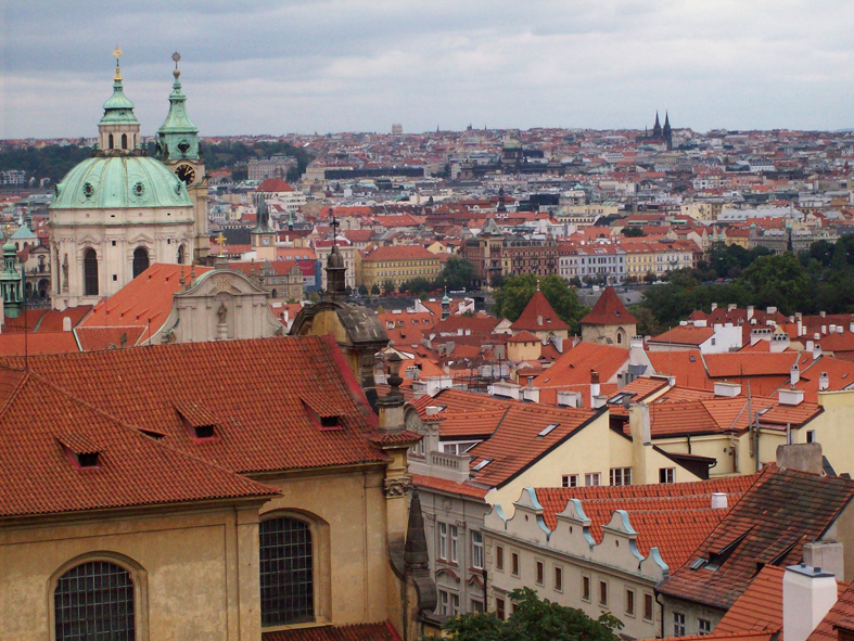 Views over Prague