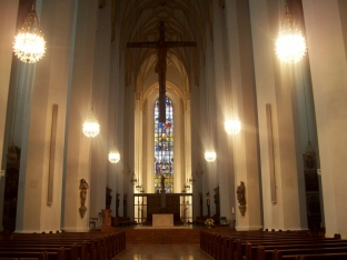 Inside Frauenkirche