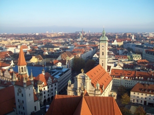 View over Munich