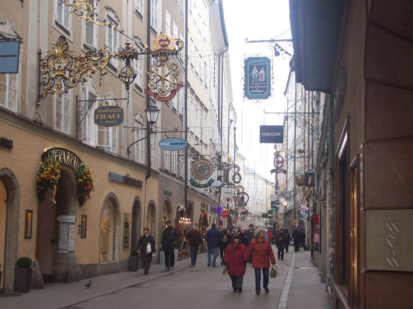 Getreidegasse Shopping