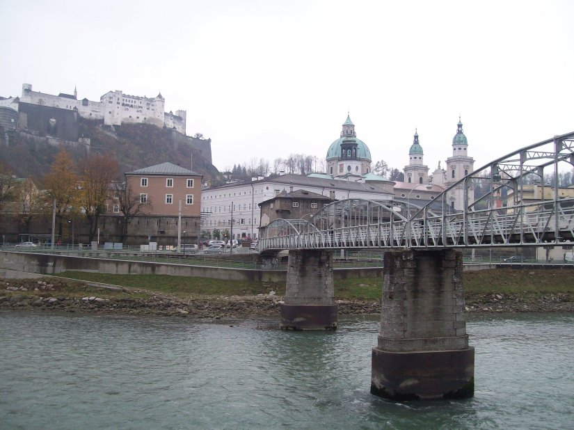 Bridge in Salzburg