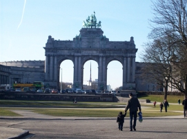 Triumphal Arch of the Cinquantenaire