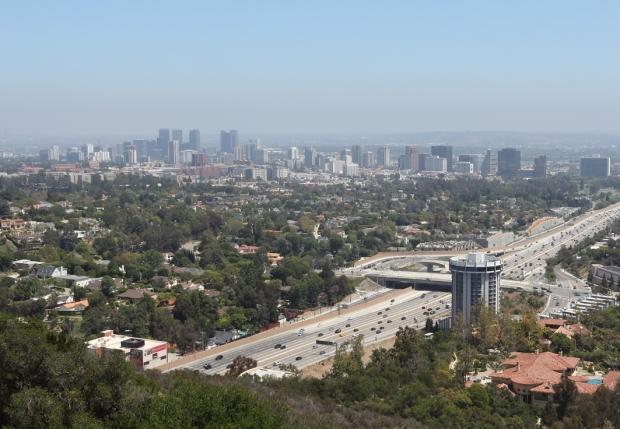 Freeways of LA