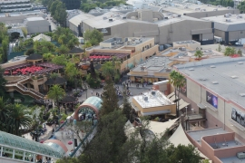 Universal Studios Layout