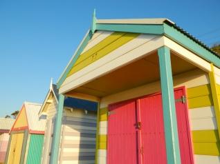 Colourful Huts