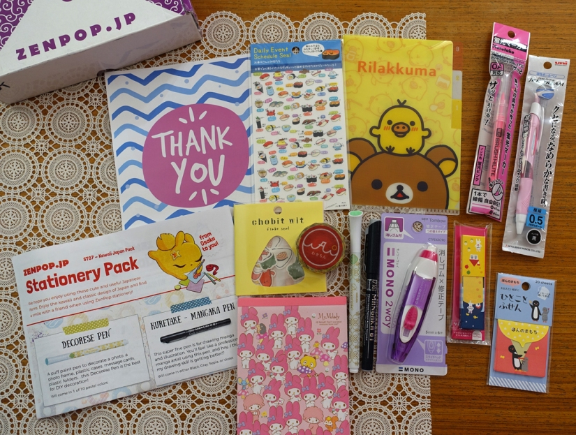 ZenPop Stationery