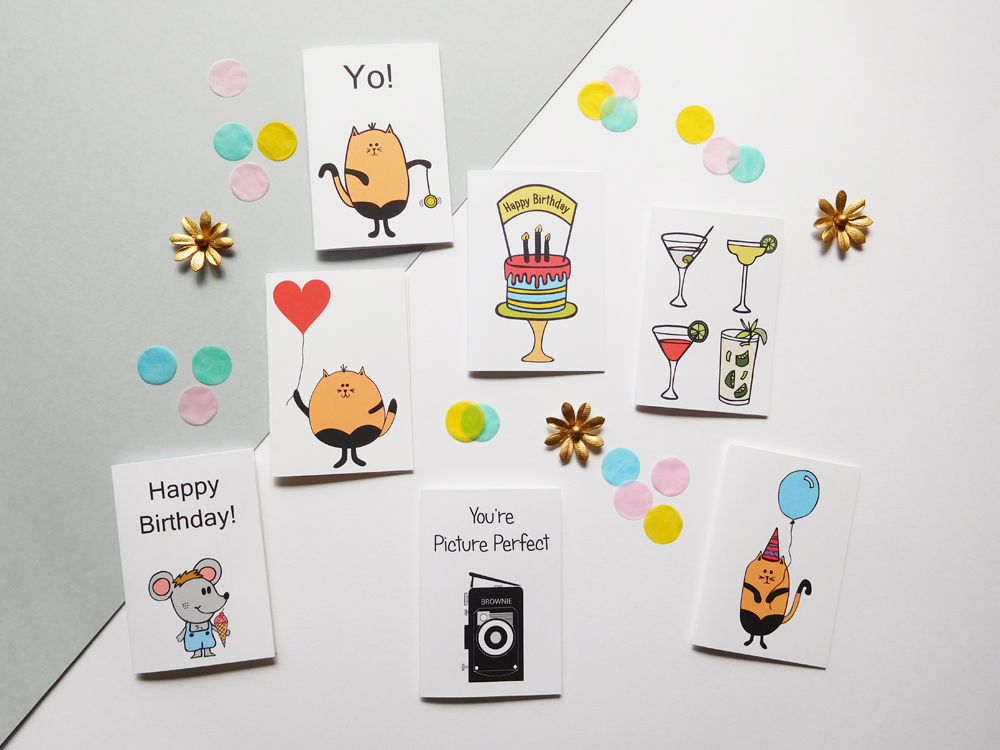 BirthdaysMiniCards